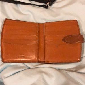 Coach Vintage Brown Wallet.